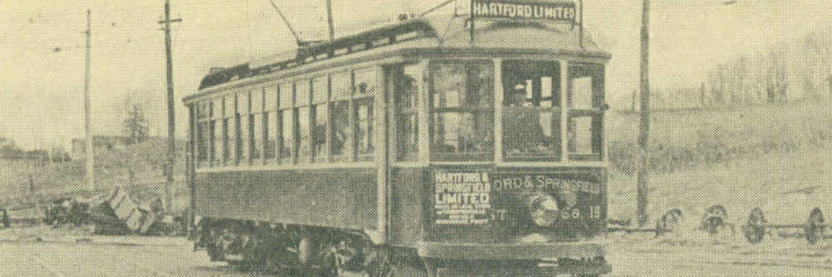 Hartford Limited on the Hartford and Springfield Street Railway