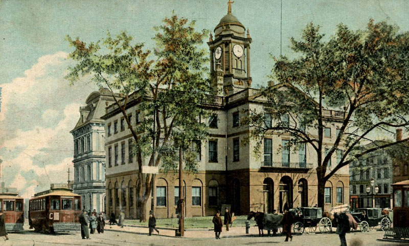 City Hall (Old State House), Hartford - c1905