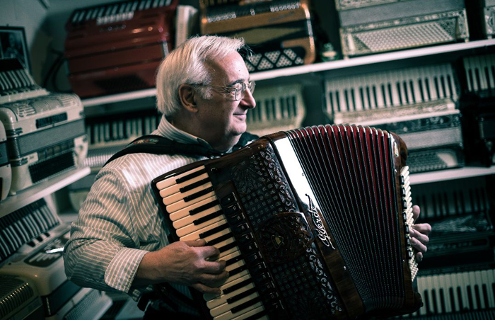 Accordion Stories From The Heart: Author Talk & Mini-Concert