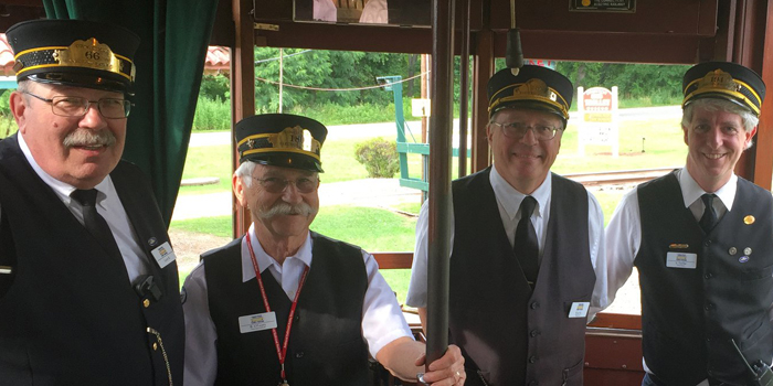 Volunteer at the Trolley Museum