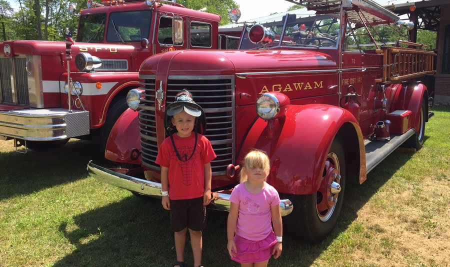 Visit the fire truck museum, too!