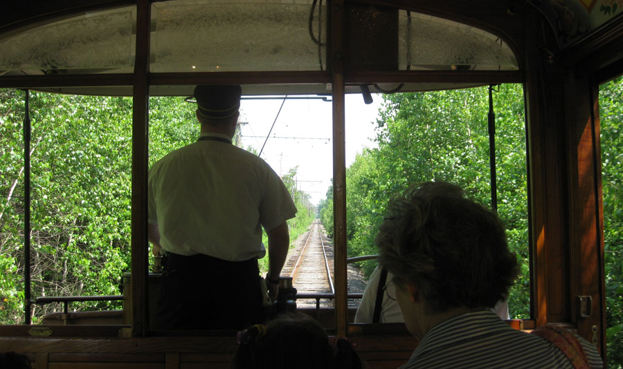 Let our motormen take you for a journey, recreating the past